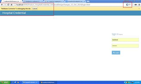 chrome javascript not working google chrome breakpoint in netbeans 8 1 with javascript