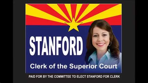 Pinal County Superior Court Search Amanda Stanford For Pinal County Az Clerk Of Superior Court Caign Spot