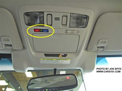 subaru homelink mirror 2016 outback interior photographs and images