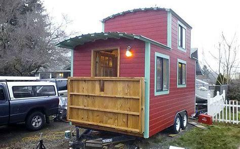 caboose exterior tiny house small house tiny house blog
