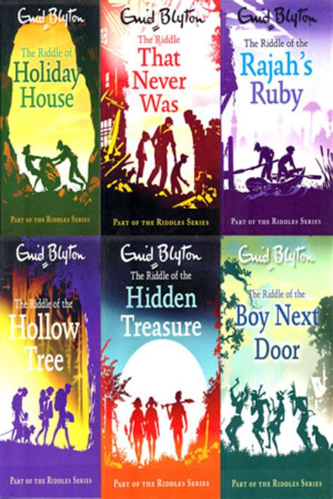 riddles riddles series by enid blyton 6 books