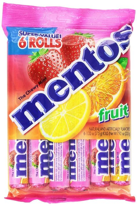 Mentos Roll Cinnamon 1 32 Ounce mentos chewy mint roll mint easter
