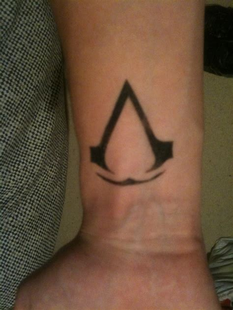 tattoo assassins animus assassin s creed assassins creed