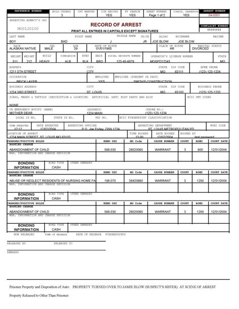 booking report report sle free printable documents