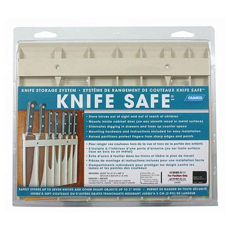 safe knife camco knife safe knife holder 425542 rv kitchen at