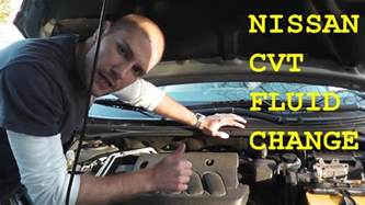 Nissan Altima Cvt Transmission Fluid Change Nissan Altima Cvt Transmission Change