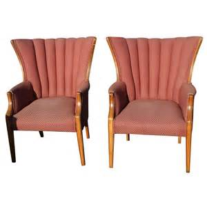Pair Wingback Chairs Ebay » Ideas Home Design