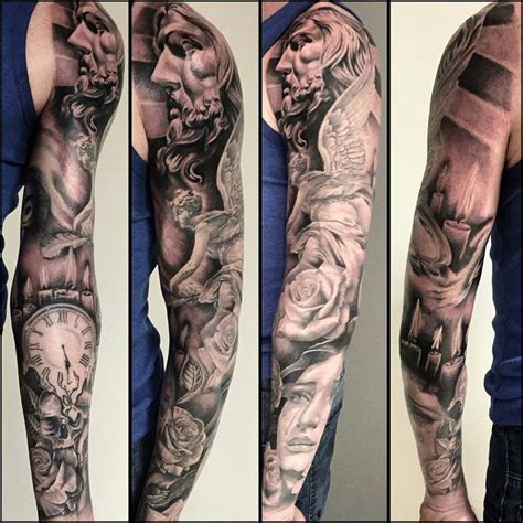 three quarter sleeve tattoo pin by ites on half sleeve tatoo