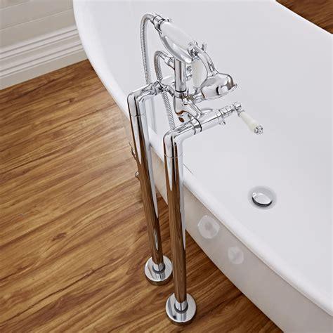 traditional bath shower mixer freestanding traditional lever bath shower mixer kit