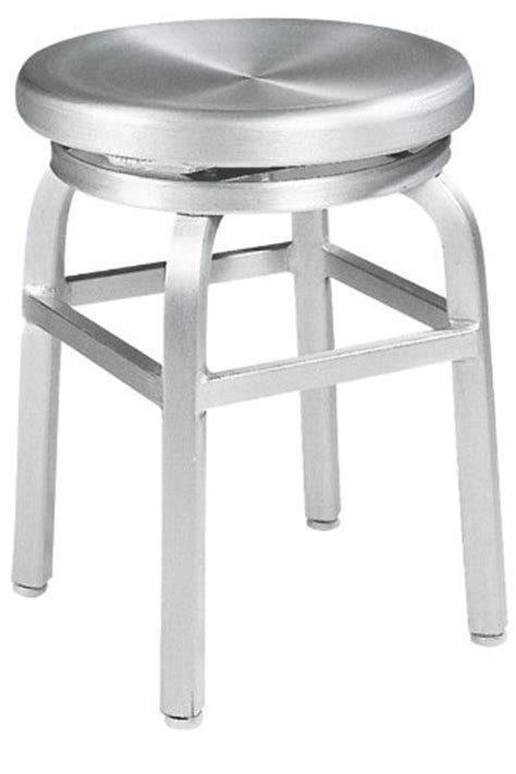 Cheap Vanity Chair by Melanie Swivel Vanity Stool Swivel Brushed Aluminm