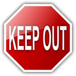 keep out signs for bedroom doors stop sighn clipart best
