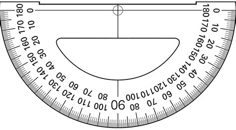 printable protractor cards print out a protractor