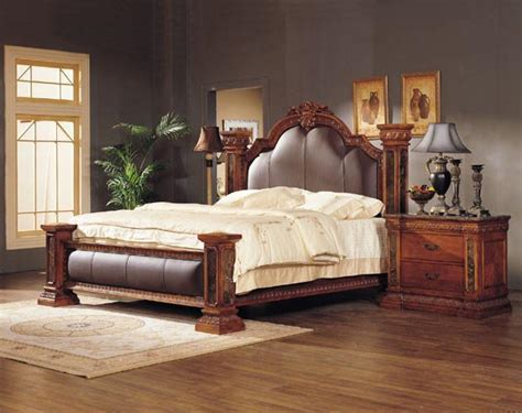 Luxury King Size Bedroom Sets by Luxury Classical King Size Wooden Bedroom Set Product