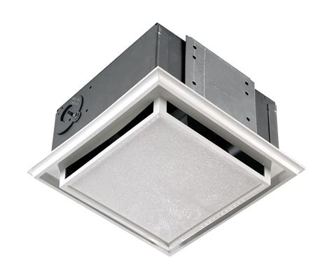 ducted exhaust fan bathroom nutone 682nt white polymeric non ducted ceiling or wall