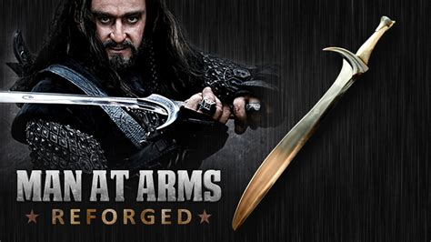 at arms orcrist the hobbit at arms reforged