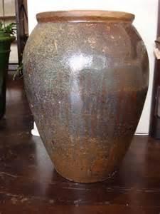 rustic ceramic jar planter mecox gardens