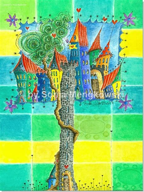 kinderzimmer bilder marchen m 228 rchen stadt serie aquarellbilder motive f 252 rs kinderzimmer