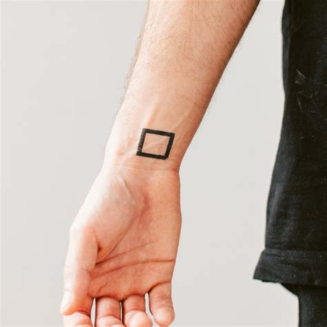 black square tattoo 20 awesome square tattoos