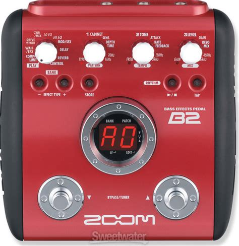 Zoom B21u Multi Effect Bass the store inc musical instrument superstore