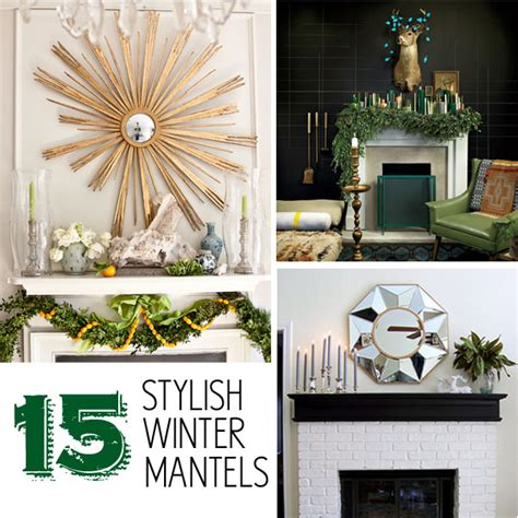 get stylish with winter decorating ideas my kirklands blog 15 stylish winter mantels makely