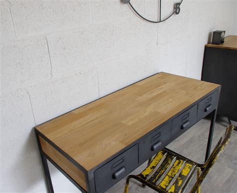 bureau acier bureau industriel 224 tiroirs en m 233 tal fabrication fran 231 aise