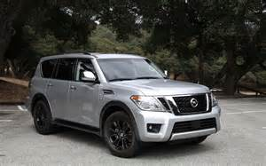 Nissan Armada Pictures 2017 Nissan Armada An Almost Modern Suv Review