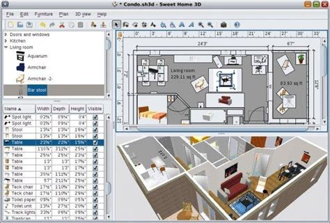 sweet home 3d home design software sweet home 3d download sourceforge net