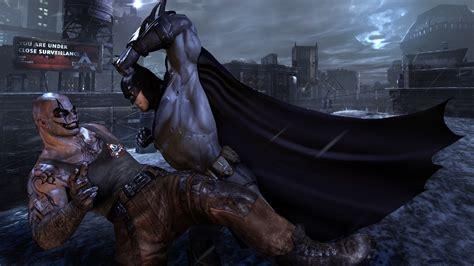 Batman Vs Superman Fight B M000104 Iphone 5 5s Se Casing Cus batman fight with clown batman arkham city desktop hd wallpaper 2880x1620 wallpapers13