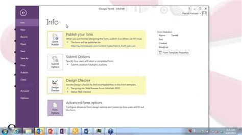 sharepoint workflow tutorial 2013 infopath 2013 tutorial infopath and sharepoint workflows