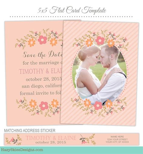 save the date cards templates photoshop 1000 images about wedding engagement templates for