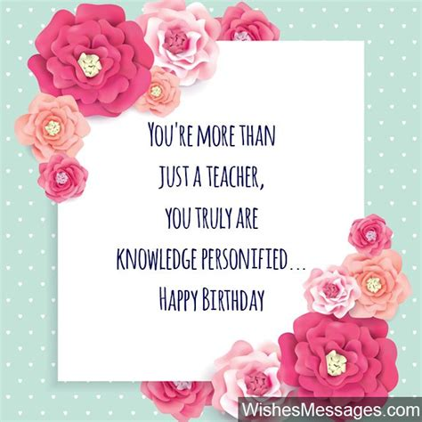 Happy Birthday Greeting Cards For Teachers Happy Birthday Wishes For Teachers Melrose Park Library Site