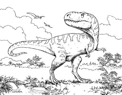 hard dinosaur coloring pages extinct animals 36 printable dinosaur coloring pages