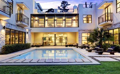 million contemporary mansion  houston tx homes