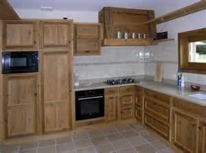 cuisine en bois meuble cuisine