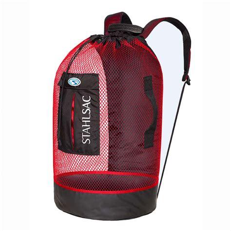 dive bag stahlsac panama mesh backpack mesh boat dive bags