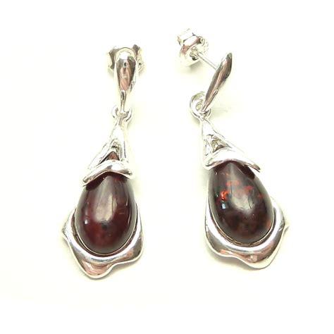Cherry Studs cherry teardrop stud earrings