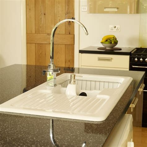 Kitchen sink   Be inspired by a neutral kitchen diner makeover   housetohome.co.uk