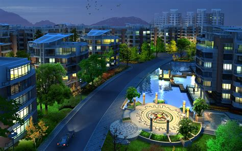3D City Wallpaper Architecture Other Wallpapers in jpg