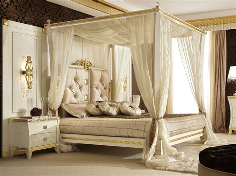 White Canopy Bed Frame Luxurioys White Gold King Size Canopy Bed Frame With Fabric Of King Size Canopy Bed Frame
