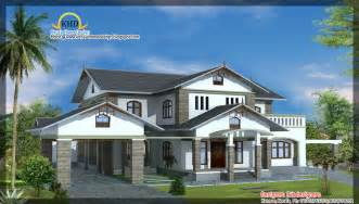 Beautiful House Plans 4 Beautiful House Elevations Kerala Home Design And Floor Plans