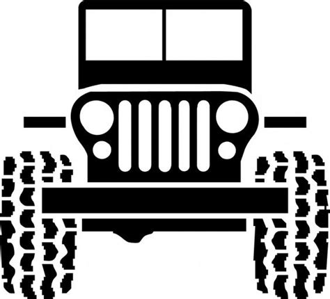 jeep grill drawing jeep grill clip images