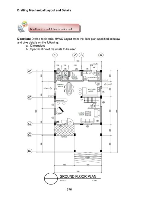 draft layout meaning module 7 module 5 draft mechanical layout and details