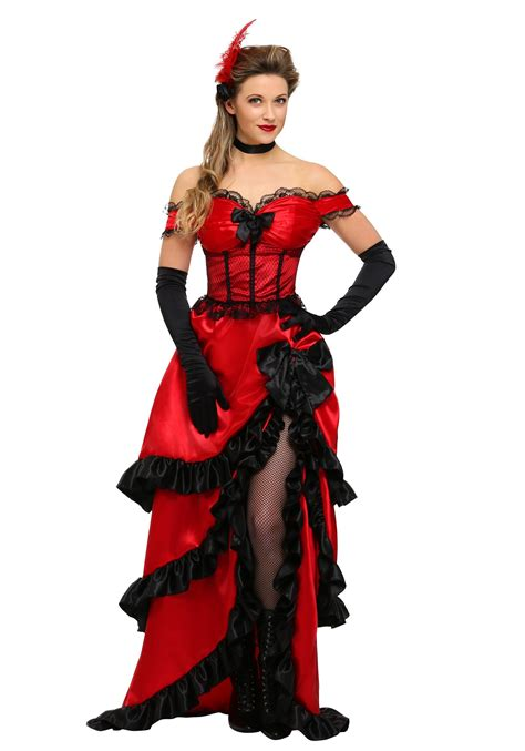 halloween costumes adult saloon girl costume