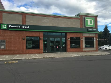 td bank phone number canada td canada trust opening hours 259 de la seigneurie