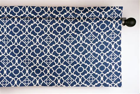 blue pattern curtain fabric blue kitchen curtain with geometric lattice pattern by