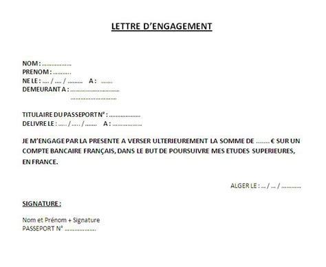 Lettre De Motivation Pour Un Visa De Retour Exemple Lettre Enagement 2012 07 08 Docteur Cus
