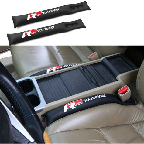Car Seat Gap Filler 1 car seat gap pad fillers spacer filler slot stopper for vw volkswagen polo golf 4 5 6 7