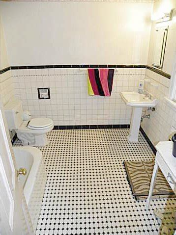 vintage black and white bathroom retro black white bathrooms lost in austin