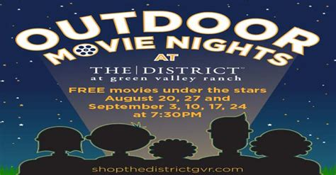best movies for backyard movie night the best places to watch free movies this summer in las vegas