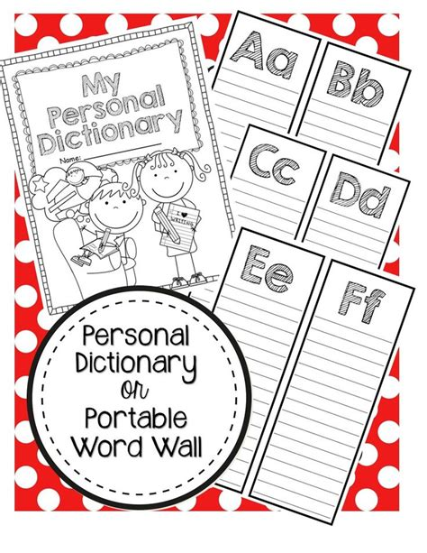 my word family dictionary 3 25 best ideas about portable word walls on grade spelling 1st grade spelling and